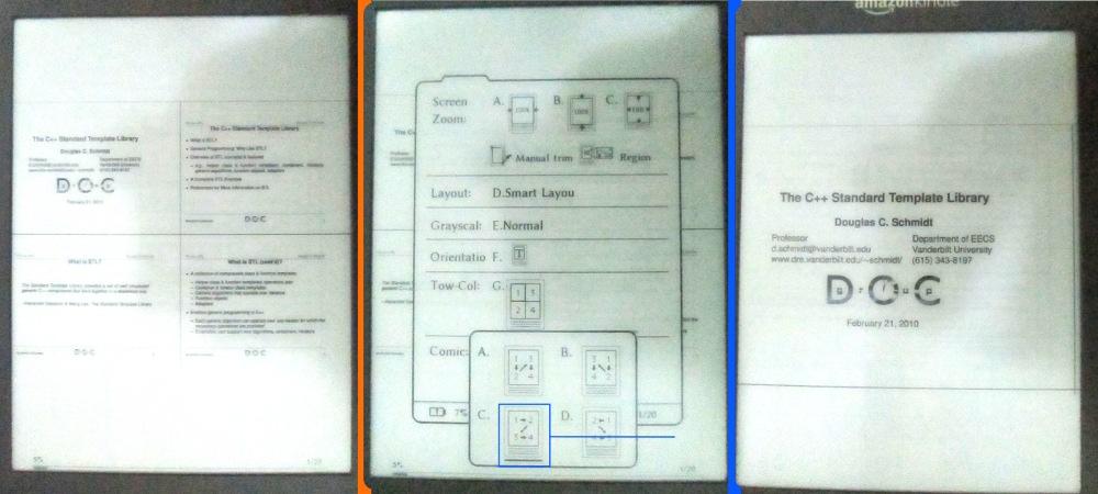تقسیم هر صفحه از اسلاید pdf به چهار صفحه در Duokan